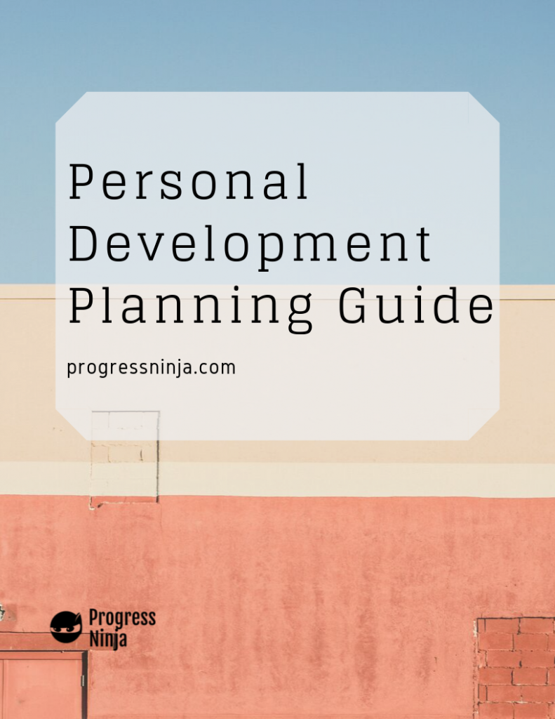 Personal Development Guide Page 1