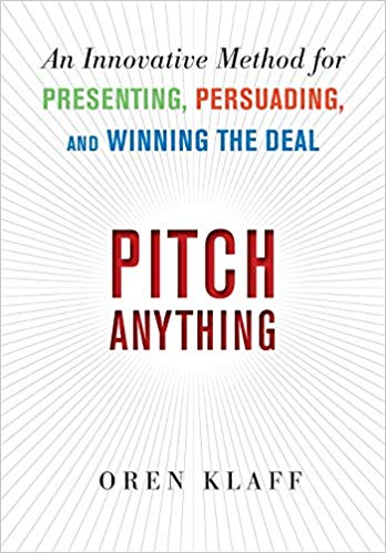 Pitch Anything - Personal Development Book