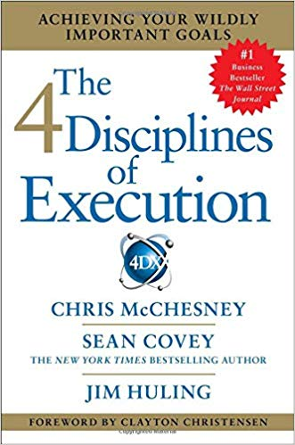 The 4 Disciplines of Execution - Personal Development Book