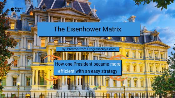 Eisenhower Matrix Banner