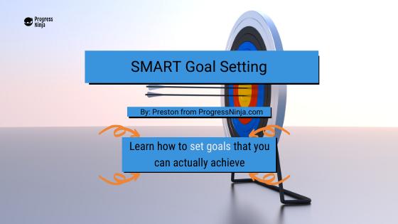 Smart Goal Setting Banner