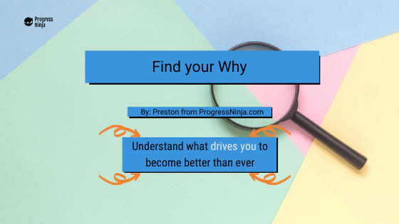 Your Why Banner