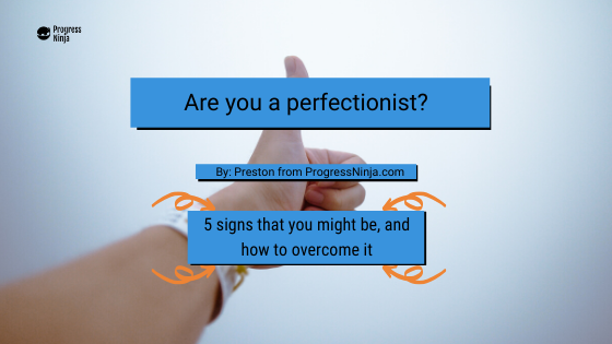 Perfectionist banner